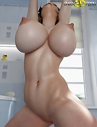 Perfect slutty babe with big tits
