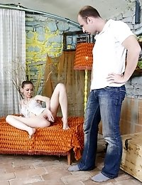 This Fascinating Honey Likes To Bring The Pleasure To Her Fellow By An Incredible Blowjob And Her Gu