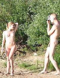 Drunk naked people acting crazy