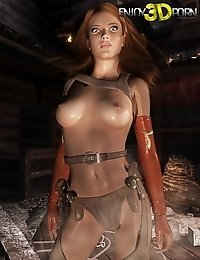 Hor redhead babe is hotter than fire